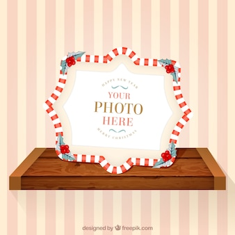 Photo frame natale