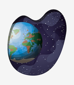 Pianeta terra del sistema solare
