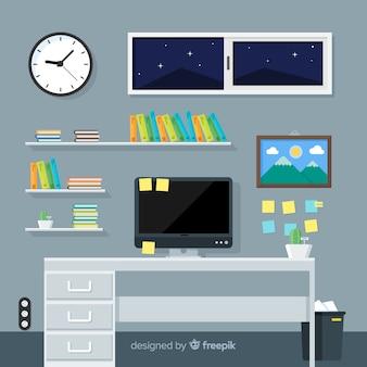 Piano di lavoro o concetto di ufficio