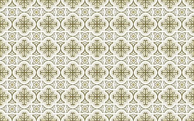 Piastrelle decorative in ceramica senza soluzione di continuità con ornamenti