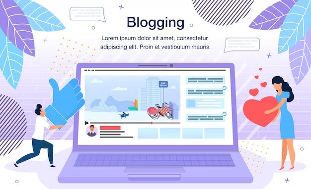 Piattaforma di blog video