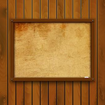 Piatto di legno