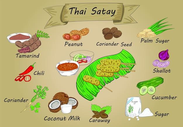 Piatto tailandese