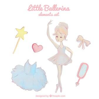 Piccola ballerina in acquerello