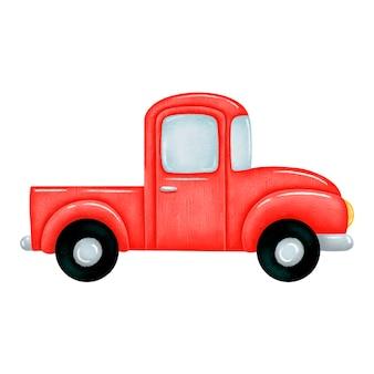 Pick up truck illustrazione