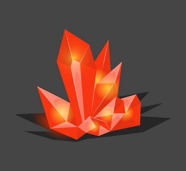 Pietra cristallina o gemma e gemma preziosa per gioielli.