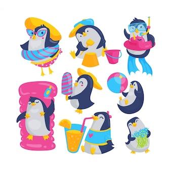 Pinguino estivo