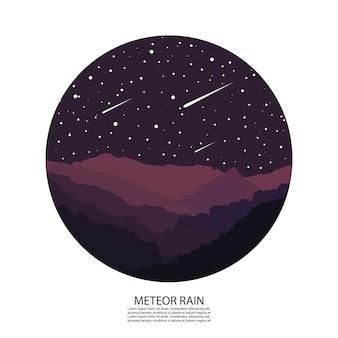 Pioggia di meteore