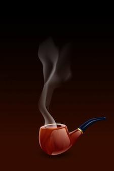 Pipa di fumo scura
