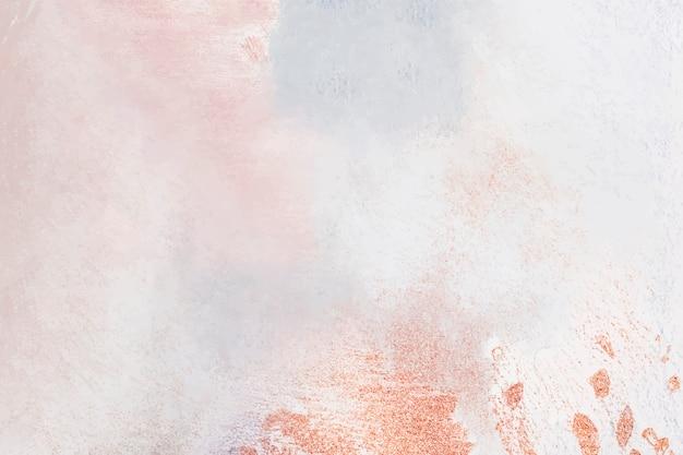 Pittura a olio pastello su sfondo di tela