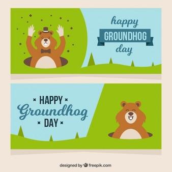Piuttosto striscioni groundhog day