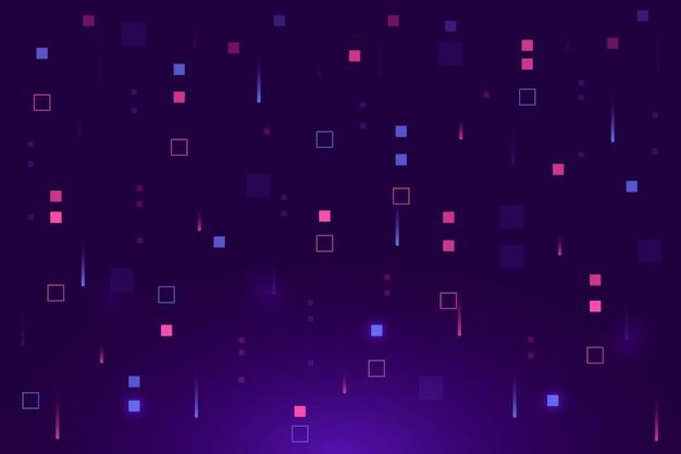 Pixel pioggia sfondo astratto