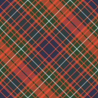 Pixel plaid scozzese senza cuciture