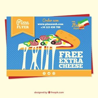Pizza di formaggio supplementare