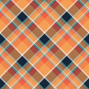 Plaid scozzese senza cuciture