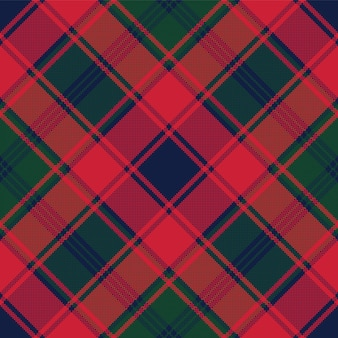Plaid scozzese tessuto trama pixel seamless pattern