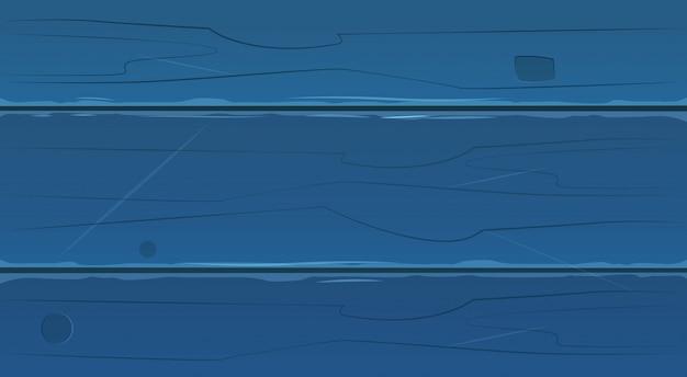 Plance di legno blu, fondo di legno di struttura