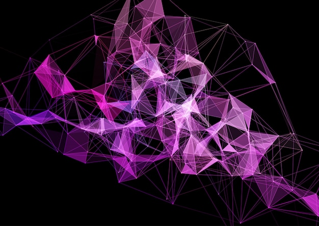 Plesso design moderno, connessioni, rete, futuristico