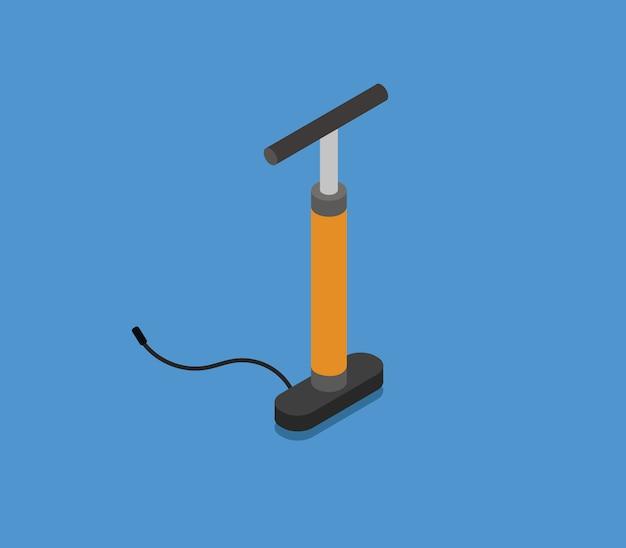 Pompa bici isometrica