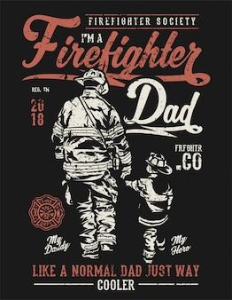 Pompiere papà