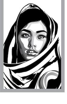 Pop art in bianco e nero