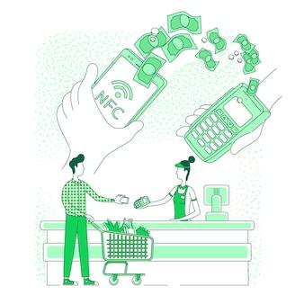 Portafoglio mobile, pagamento elettronico