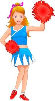 Posa di cheerleader