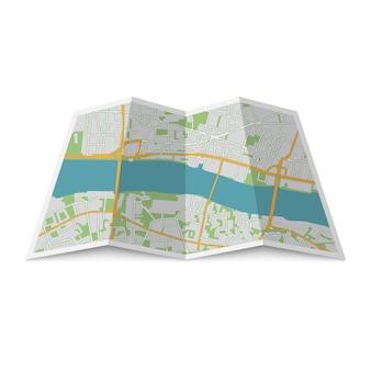 Posizione mappa della città