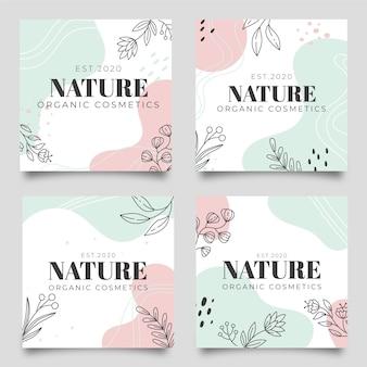 Post di instagram sulla natura