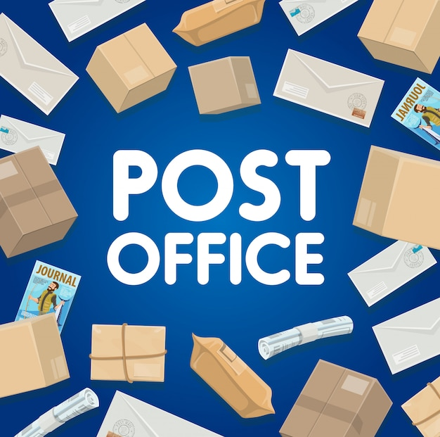 Posta, giornali, consegna pacchi e lettere