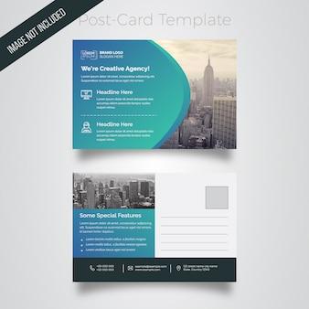 Postcard tempalte