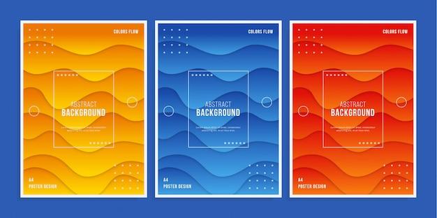 Poster colorato 3d