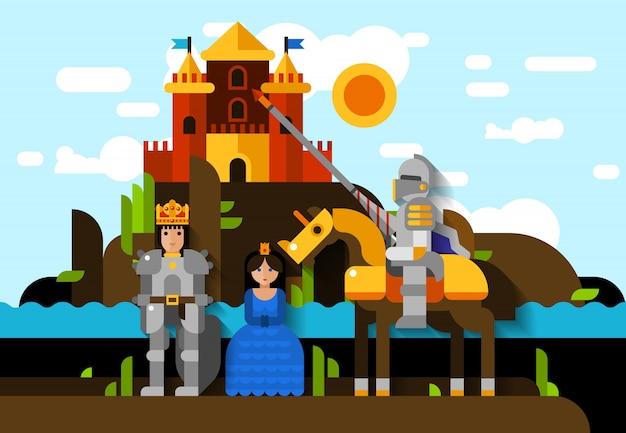 Poster del cavaliere