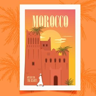 Poster del marocco