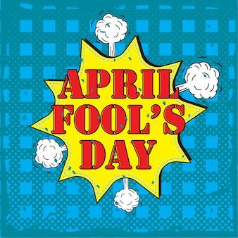 Poster del primo di aprile.