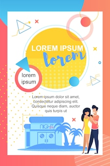 Poster del summer party