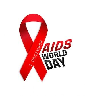 Poster della giornata mondiale dell'aids