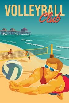 Poster di beach volley
