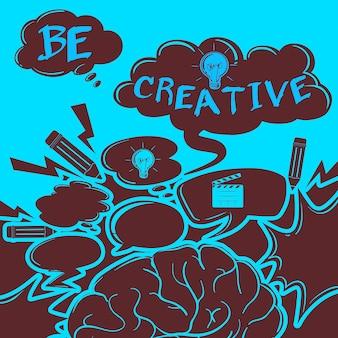 Poster di ispirazione con testo