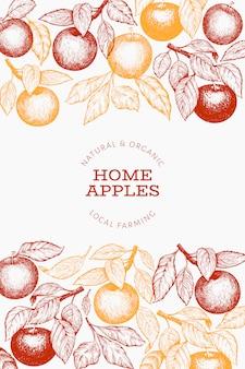 Poster di mele a casa