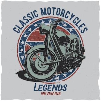 Poster di motociclette classiche