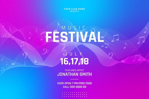Poster di musica
