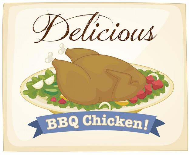 Poster di pollo