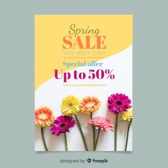 Poster di vendita primavera fotografica