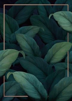 Poster di vibrazioni tropicali
