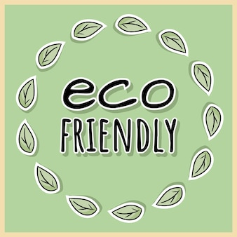 Poster eco-friendly