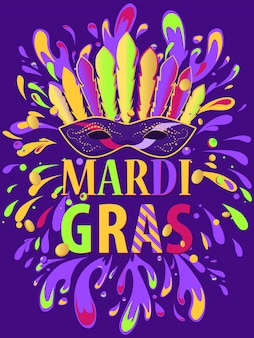 Poster mardi gras