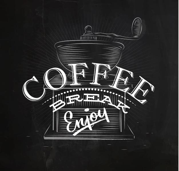 Poster pausa caffè
