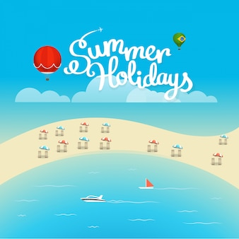 Poster stagione estiva