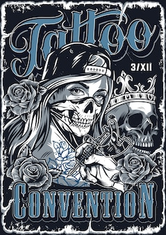 Poster vintage chicano